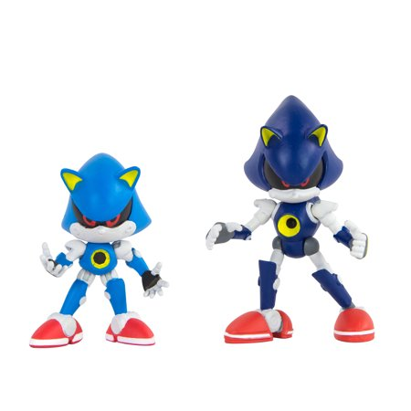Sonic the Hedgehog Collector Series 2 Figure Pack with Comic, Classic & Modern Metal