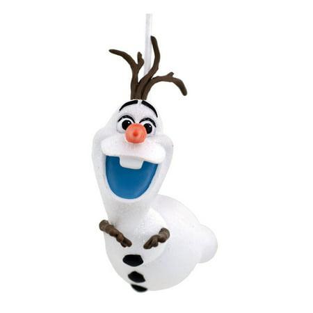 Hallmark 2HCM1009 Frozen Olaf Sled Christmas Ornament, Multicolored (Frozen Christmas Decorations)