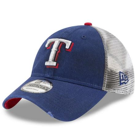 detailed look eac66 f230d Texas Rangers New Era Team Rustic 9TWENTY Adjustable Hat - Royal - OSFA -  Walmart.com