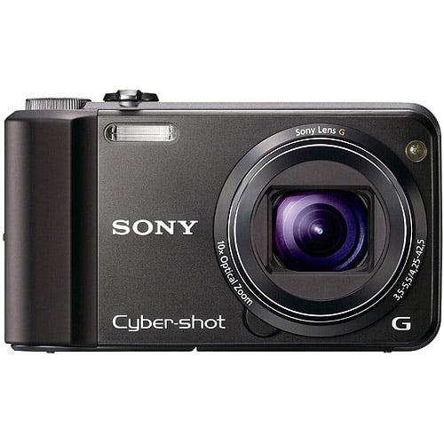 "Sony DSC-H70/B 16.1MP Digital Camera w/ 10x Optical Zoom Lens, 3.0"" LCD Display, 100 Free Prints, (Assorted Colors)"