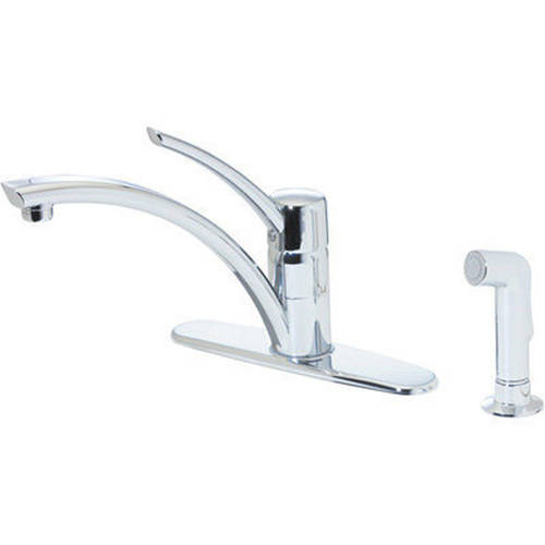 pfister ashfield kitchen faucet with sidespray polished price pfister f 529 7ypu ashfield kitchen faucet rustic