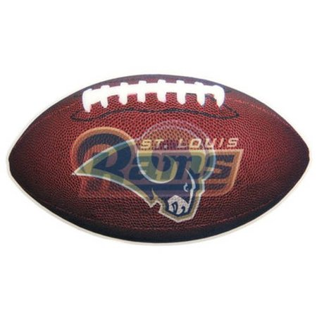 NFL St. Louis Rams 3D Football Magnet, 2-Pack