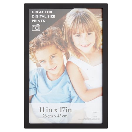 11 x 17 in. Black Gallery Picture Frame - Frames In Bulk