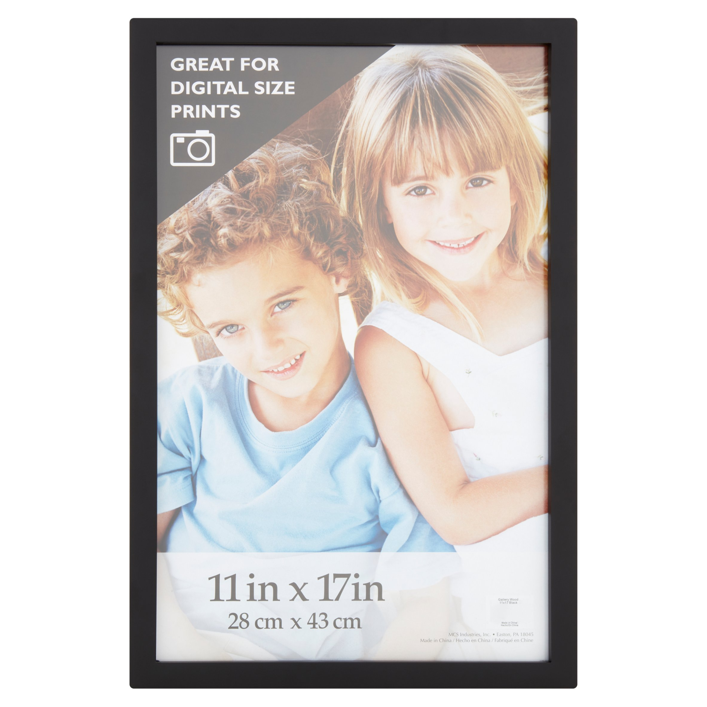 11 x 17 in. Black Gallery Picture Frame