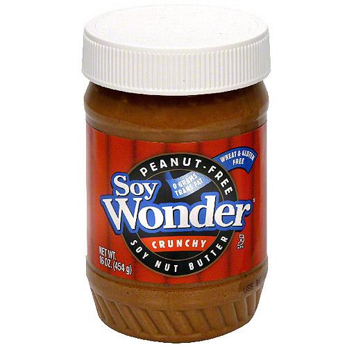 Soy Wonder Crunchy Soy Butter, 17.6 oz (Pack of 6)