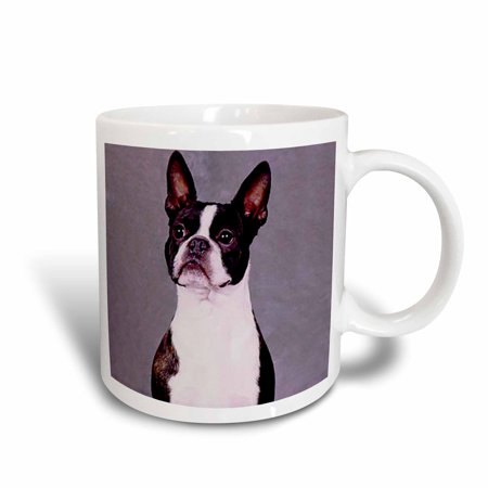 - 3dRose Boston Terrier, Ceramic Mug, 11-ounce