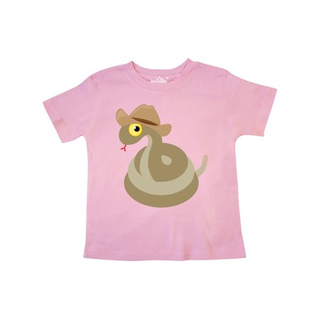 Cowboy Snake Western Toddler T-Shirt - Western Cowboy Outfits