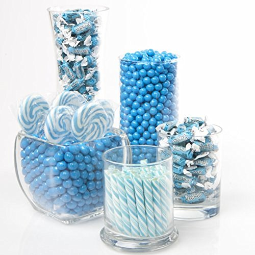 Big Dot of Happiness Blue Candy Kit - Party Candy Buffet ...