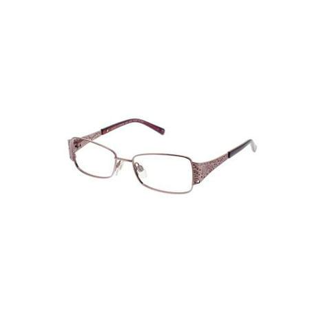 JESSICA MCCLINTOCK Eyeglasses 4008 Rose 50MM - Walmart.com