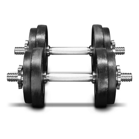 - Yes4All 60 lb Adjustable Dumbbell Weight Set - Cast Iron Dumbbell (a Pair)