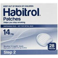 STEP 2 (28 Count) Habitrol Transdermal Nicotine Patches, 14mg Stop Smoking Aid