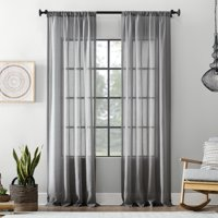 Archaeo Textured Cotton Blend Sheer Curtain