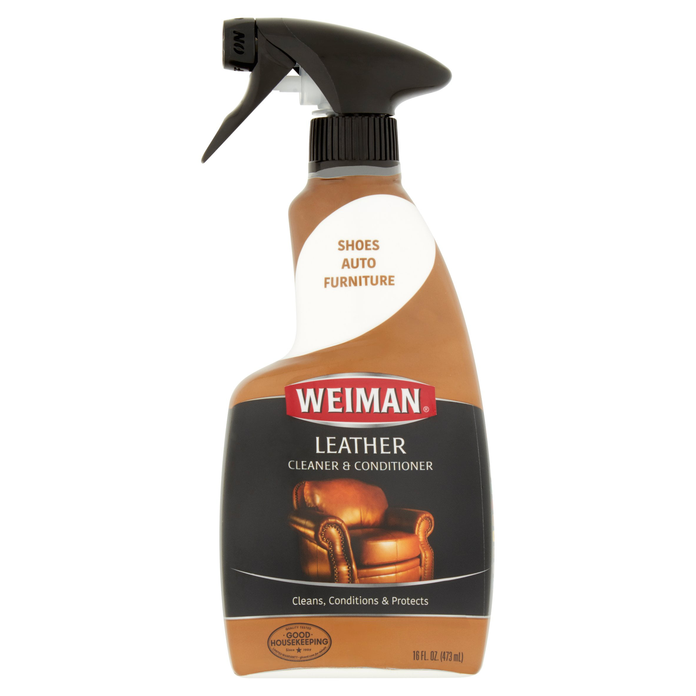 weiman leather cleaner conditioner 16 fl oz ebay. Black Bedroom Furniture Sets. Home Design Ideas