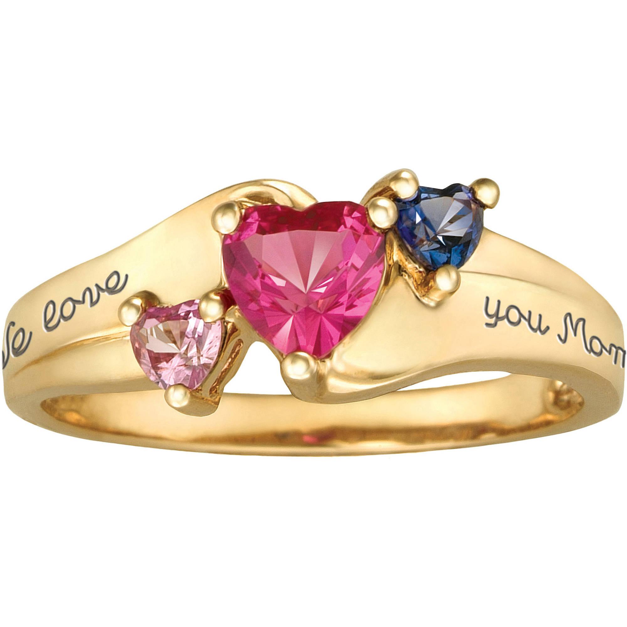 Personalized Keepsake Jewel Ring