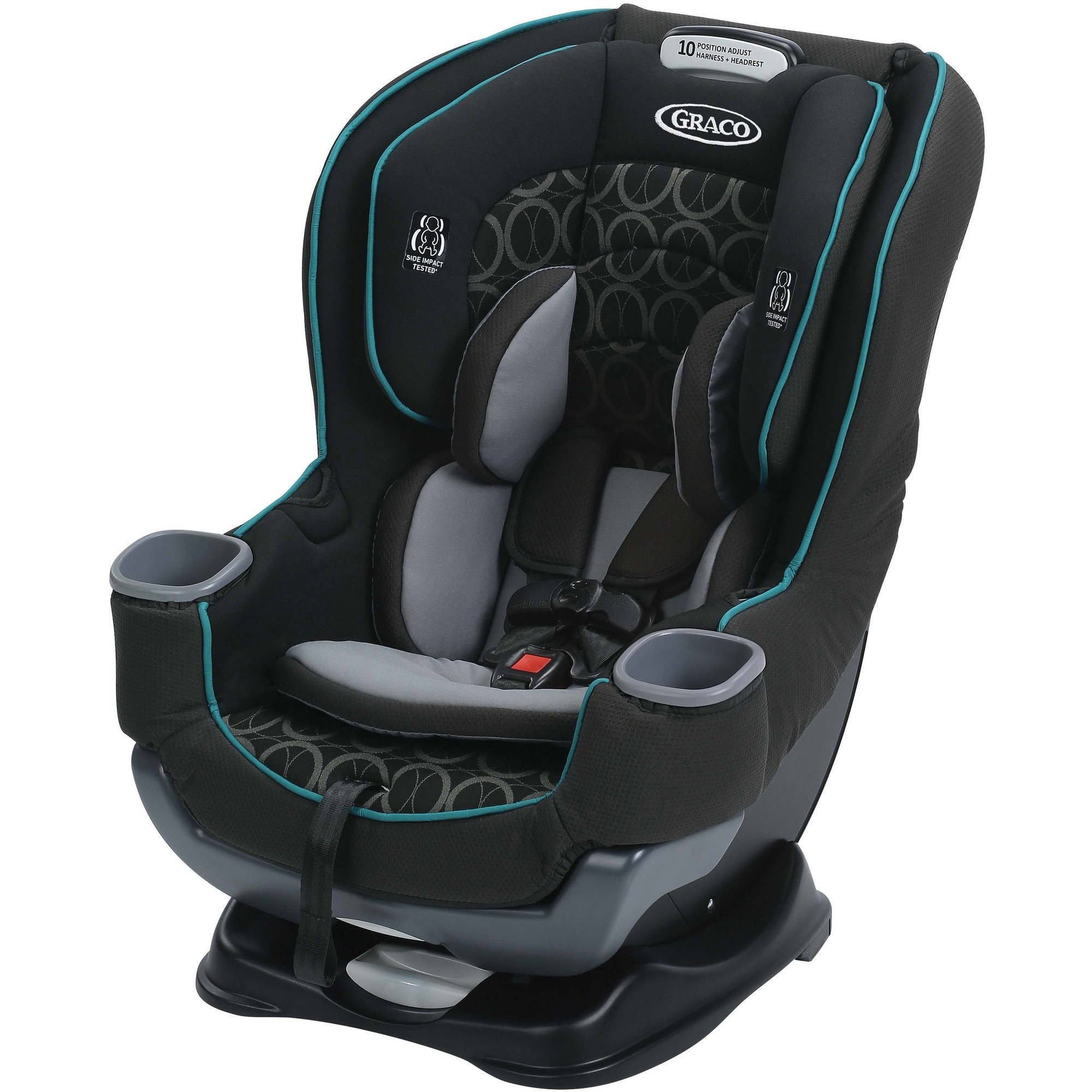 Graco Extend2Fit Convertible Car Seat, Valor