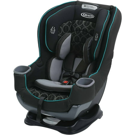 Graco Extend2Fit Convertible Car Seat, (Stock Car Set)