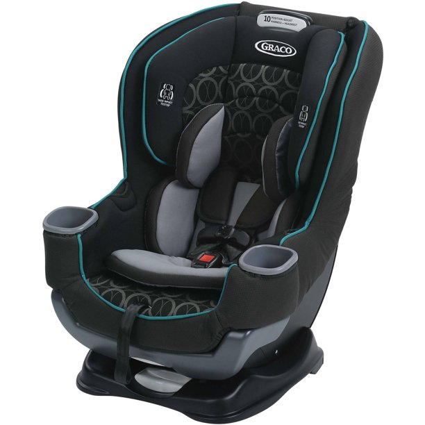 Graco Extend2fit Convertible Car Seat Valor Black Walmart Com Walmart Com