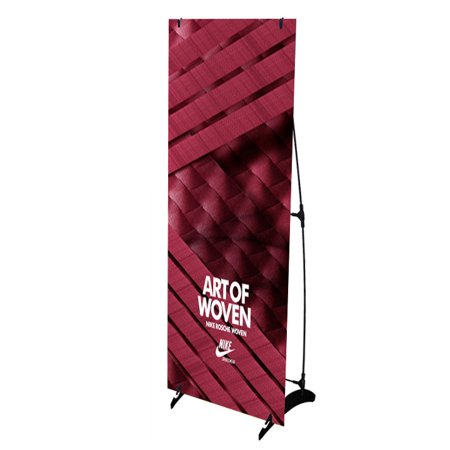 Signworld H Banner Display Stand Portable Outdoors 24