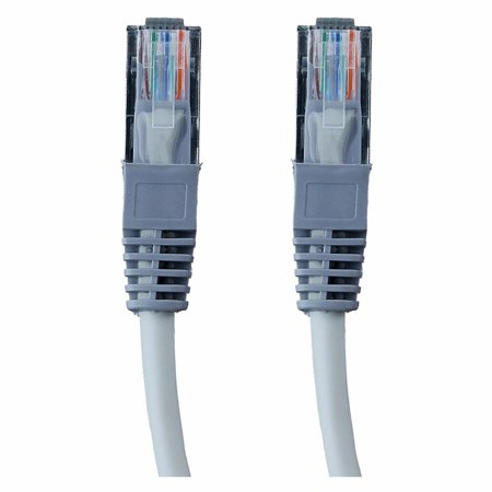 Universal 4Ft LAN RJ-45 Network Ethernet Patch Cable Cat 5E (26 AWG) - Gray (Wiremaster Rj 45 Lan Cable)