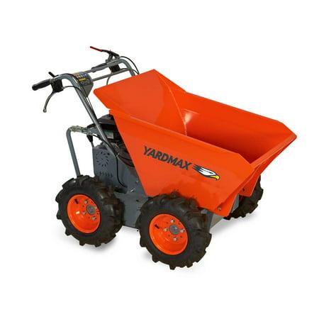 YARDMAX YD4103 Wheel Barrow, 660 lb. Capacity, Briggs and Stratton, CR950, 6.5 hp, 208cc