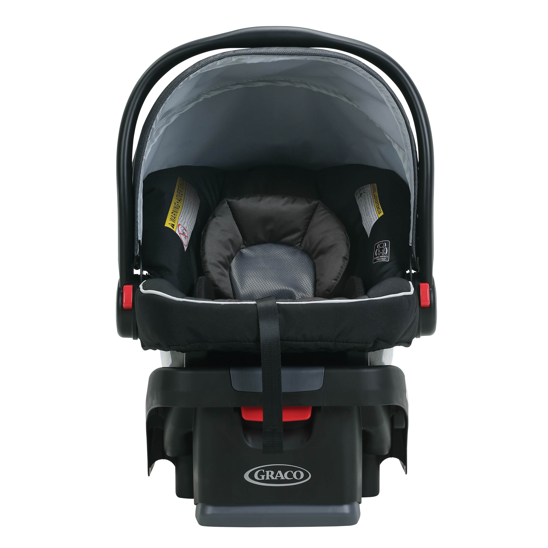 Graco SnugRide Click Connect 35 Car Seat Black Gotham and SnugRide Click Connect 30//35 LX Infant Car Seat Base