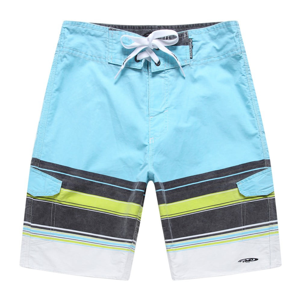 TBVS 79 Alligator Mens Holiday Party Beach Board Shorts with Mesh Lining