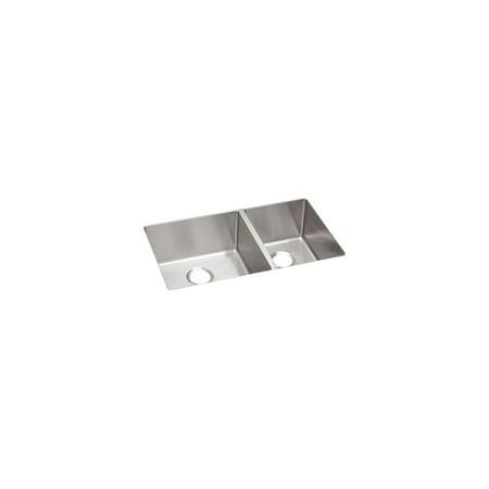 Elkay SS 31.5x18.5x9 Dbl Under MT Sink