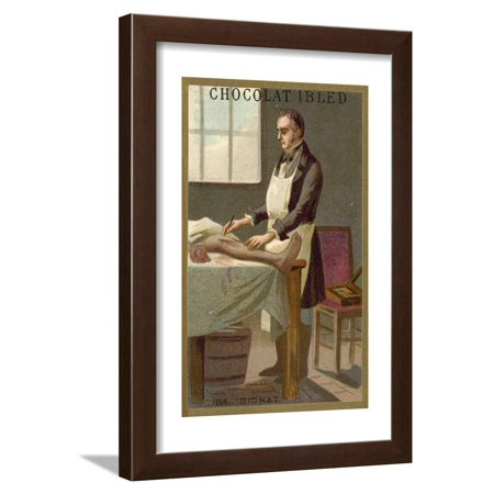 Marie Francois Xavier Bichat, French Physiologist and Anatomist Framed Print Wall Art