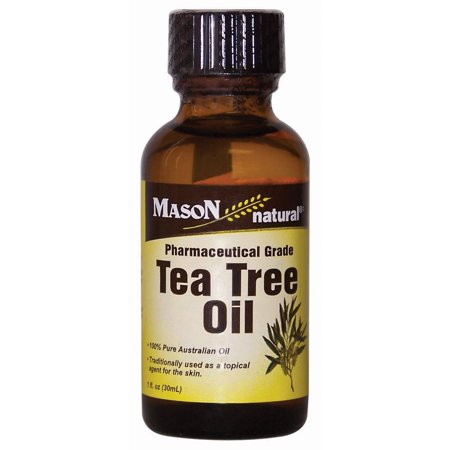 Original Australian Tea Tree - Mason Natural Tea Tree Oil, 1 Fl Oz