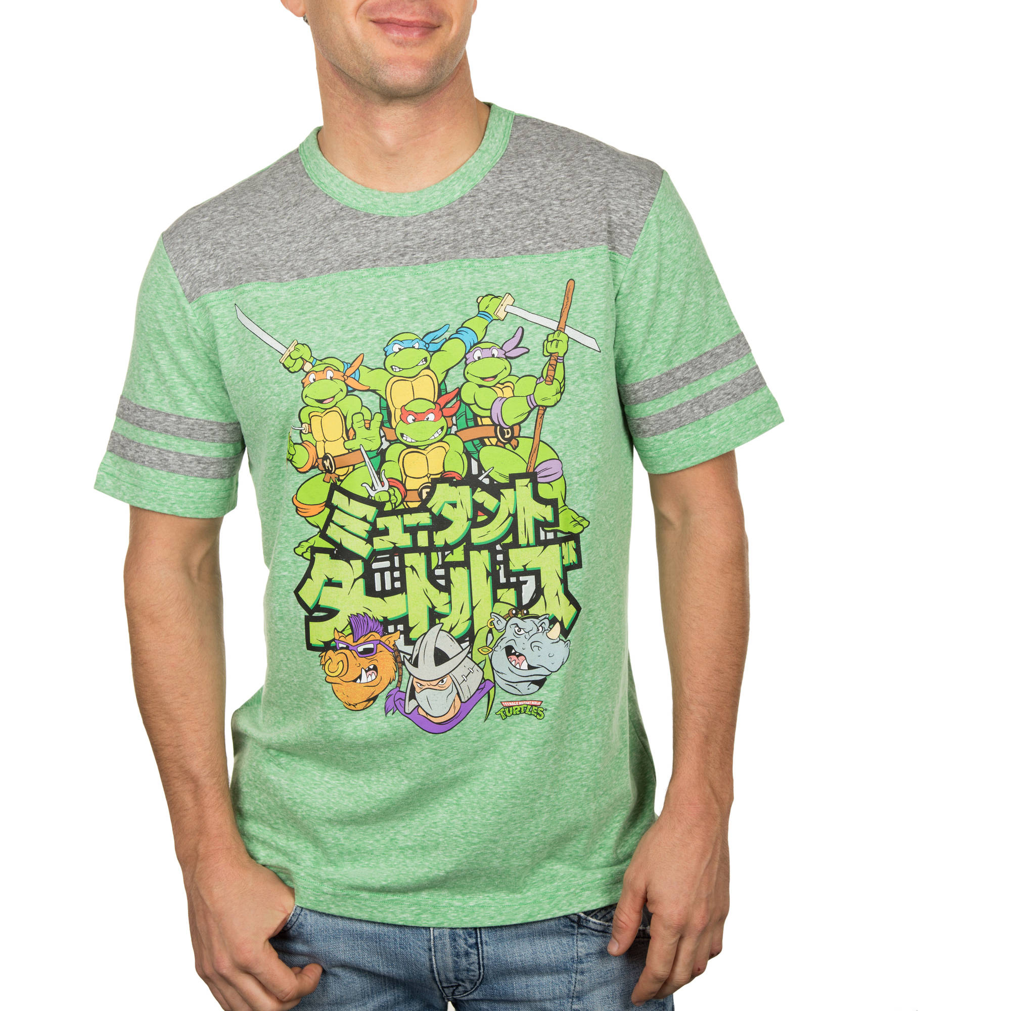 Teenage Mutant Ninja Turtle TMNT Group Men's Graphic Tee