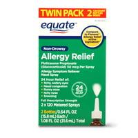 Equate Non-Drowsy Allergy Relief Nasal Spray, 50 mcg per spray
