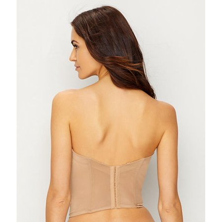 17a8a0bc4 Le Mystere NATURAL Soiree Longline Bustier Convertible Bra