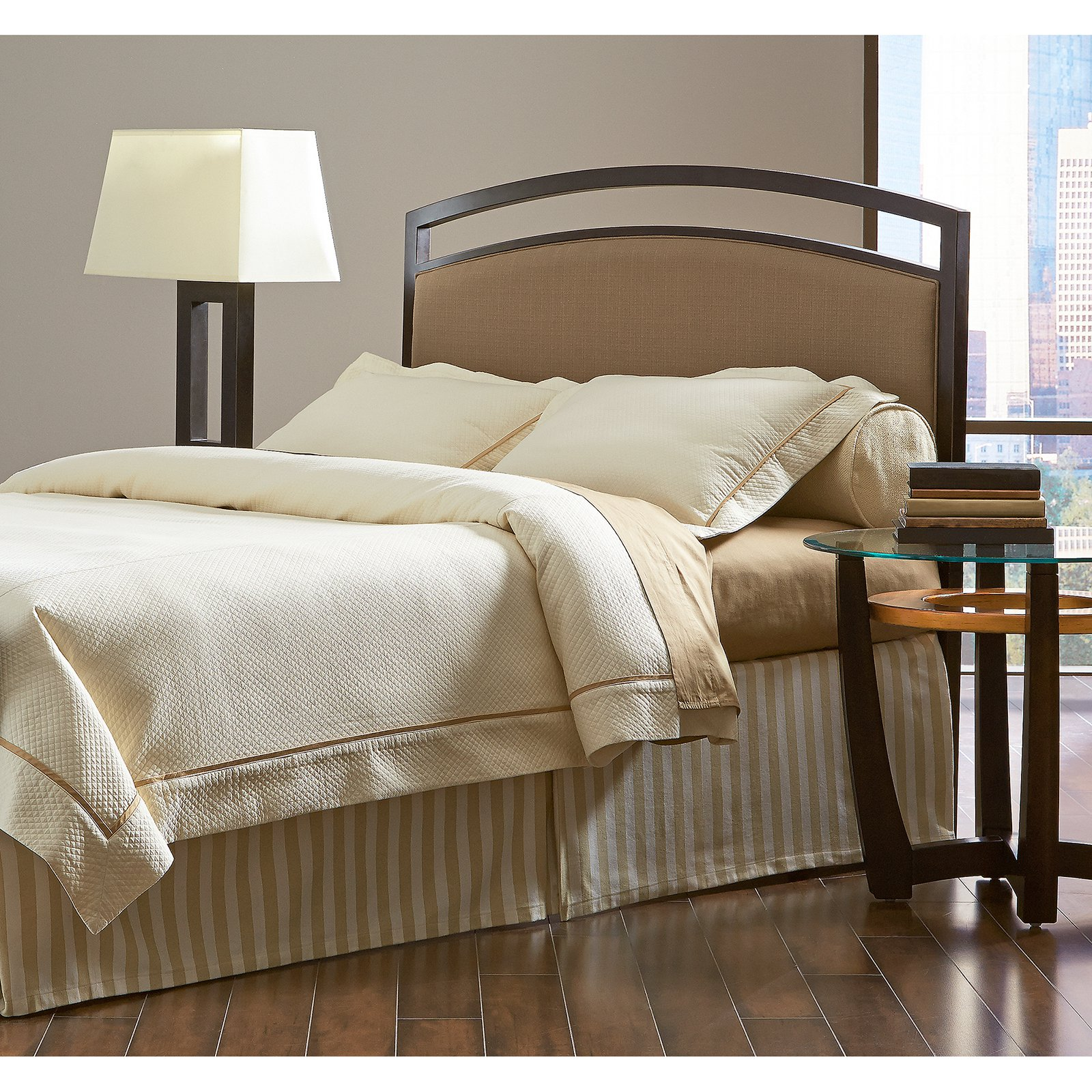 Fashion Bed Group by Leggett & Platt Gibson  Brown Sugar/Brown Sparkle Headboard, Multiple Sizes