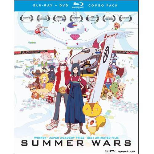 Summer Wars (Japanese) (Blu-ray + DVD)