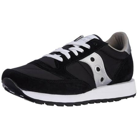 Saucony Jazz Original Mens Silver/Black (Jazz Sneaker)