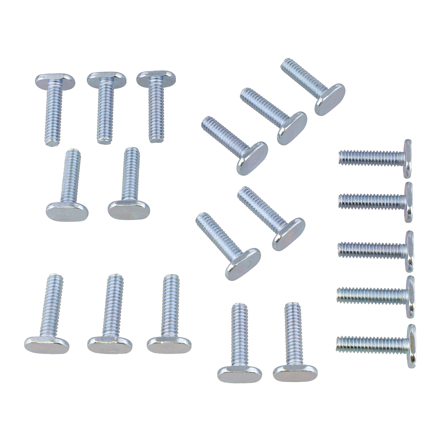 DCT® | Tee Bolt Set – 20 Pack T Bolts for Woodworking, T Track Bolts + Jig Bolts