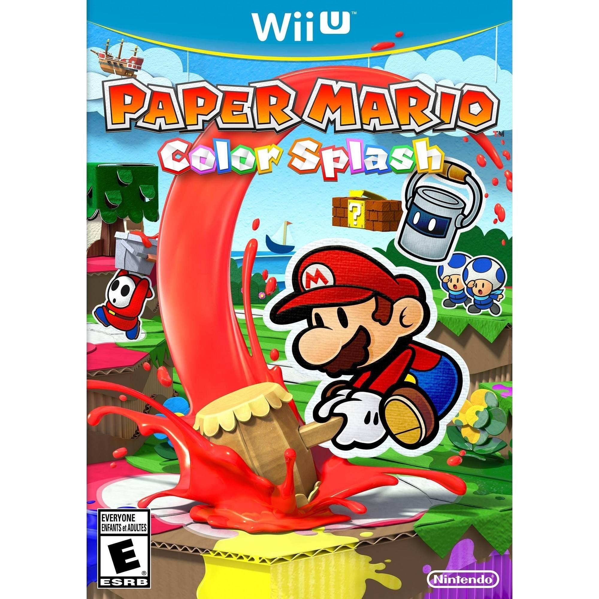 Paper Mario: Color Splash - Pre-Owned (Wii U)