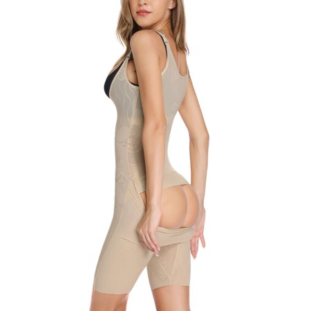 SLIMBELLE Women's Full Body Shaping Control Slip Seamless Slimming Slip Shapewear - Body Shaper Slip