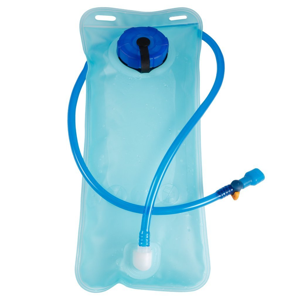 2L Bicycle Bike Cycling Mouth Water Bladder Bag Hydration Camping Sports Blue Blue