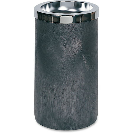 Rubbermaid Commercial, RCP258500BK, Smoking Urn with Metal Ashtray, 1, Black