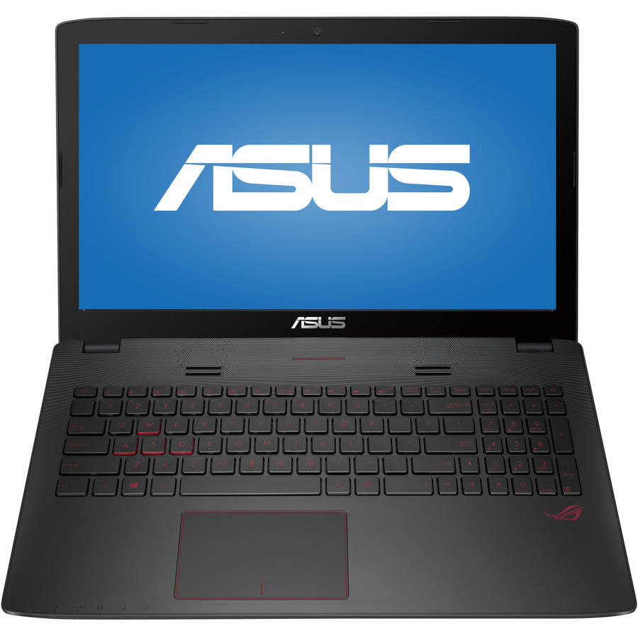 """ASUS Metallic 15.6"""" GL552VW-DH71 Laptop PC with Intel Core i7-6700HQ"""