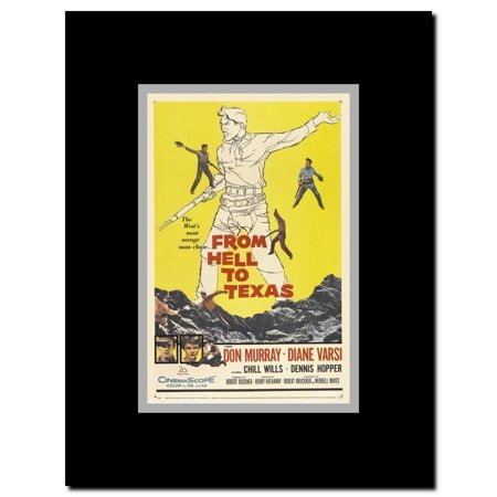 - From Hell to Texas Framed Movie Poster