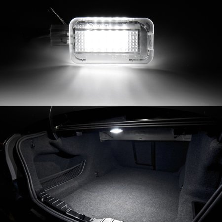 White Full LED Trunk Cargo Area Light Assembly For Honda Accord Civic Insight Fit Acura ILX RSX TL TLX TSX