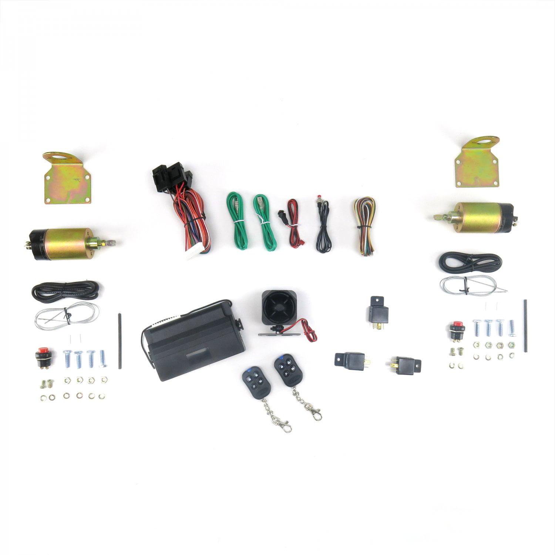Auto Loc 8 Channel Shaved Door Handle Kit W Alarm