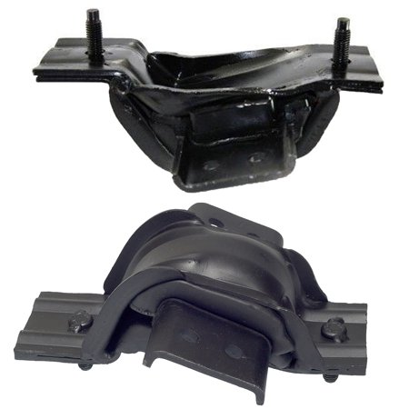 For 99-03 Ford F250 F350 F450 F550 Excursion Super Duty 7.3L Front Left and Right Engine Motor Mount Set 2pcs 1999 2000 2001 2002 2003 5182 5183 (1999 Ford Contour Engine Motor)