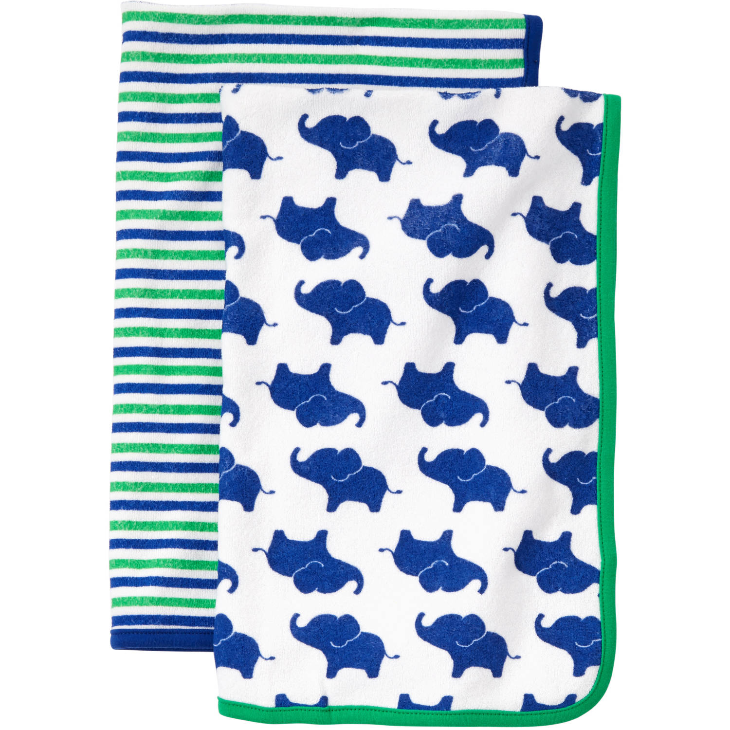 Child of Mine by Carter's Newborn Baby Boy Towel 2-Piece Set