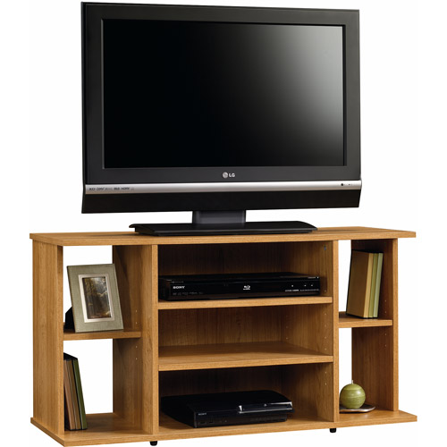 Sauder Beginnings Highland Oak TV Stand for TVs up to 42""