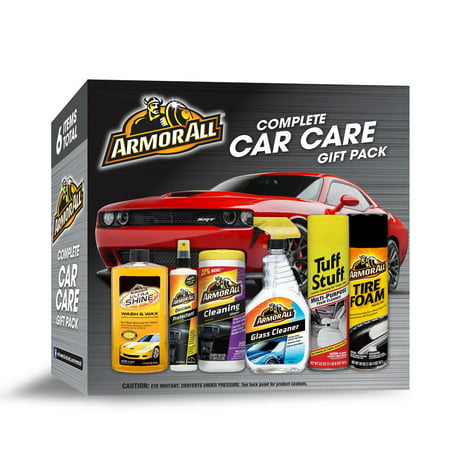 Armor All Complete Car Care Gift Pack (6 Piece Kit)