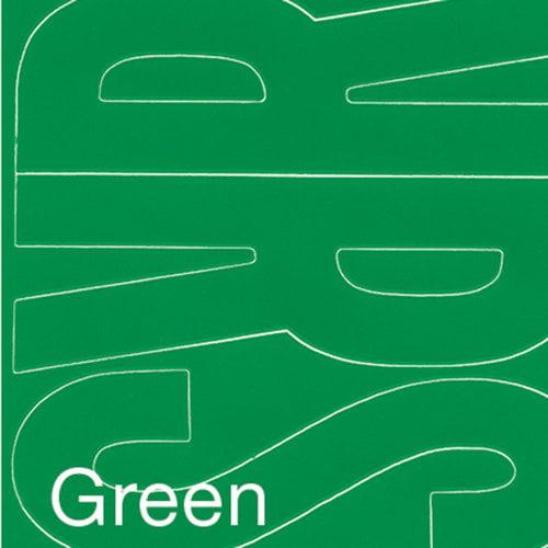 "Permanent Adhesive Vinyl Letters, 4"", 95pk, Green"