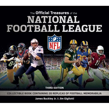 - The Official Treasures of the National Football League (Hardcover)